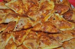 Servisch Gebakje - Pitabroodje sa sirom Royalty-vrije Stock Foto