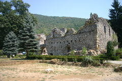 Servisch klooster stock foto's