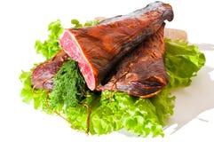 Servisch nationaal gerookt rundvlees Stock Afbeeldingen