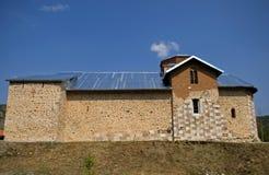 Servisch orthodox klooster, Banjska, Kosovo stock foto's