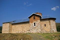 Servisch orthodox klooster, Banjska, Kosovo royalty-vrije stock foto
