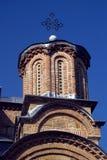 Servisch orthodox klooster, Gracanica, Kosovo stock foto