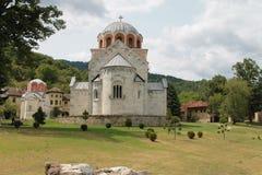 Servisch Orthodox Klooster Studenica royalty-vrije stock afbeelding