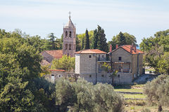 Servisch Orthodox Klooster van Rezevici royalty-vrije stock foto's