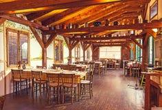 Servisch Restaurant Royalty-vrije Stock Fotografie