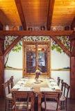 Servisch Restaurant Royalty-vrije Stock Foto's