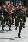 Servische Leger Speciale Brigade Stock Foto