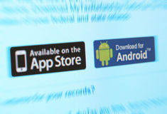 Servizi di App Immagini Stock Libere da Diritti