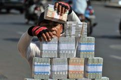 Servizi di scambio di soldi Immagini Stock Libere da Diritti