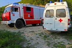 Servizi di soccorso Immagini Stock
