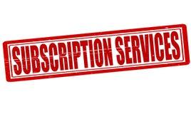Servizi di sottoscrizione royalty illustrazione gratis