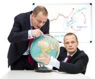 Servizi espandentesi globalmente Fotografie Stock