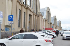 Servizio centrale di Riga immagine stock