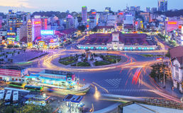 Servizio del Ben Thanh, Ho Chi Minh City Immagine Stock