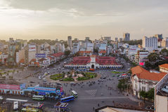 Servizio del Ben Thanh, Ho Chi Minh City Immagini Stock Libere da Diritti