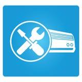 Servizio del condizionatore d'aria Fotografie Stock