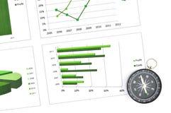 Servizio del diagramma di affari Immagine Stock Libera da Diritti