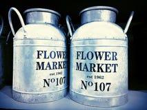 Servizio del fiore Immagini Stock