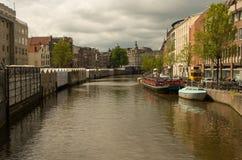 Servizio del fiore a Amsterdam Fotografia Stock Libera da Diritti