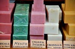 Servizio del sapone in Italia Immagine Stock