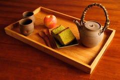 Servizio del tè immagine stock