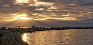 Servizio del traghetto fotografia stock libera da diritti