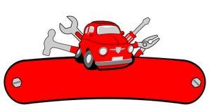 Servizio dell'automobile del garage Fotografie Stock Libere da Diritti