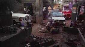 Servizio dell'automobile in Goa del nord archivi video