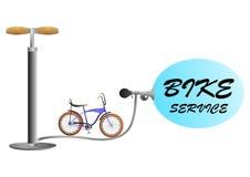 Servizio della bici Fotografia Stock Libera da Diritti