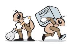 Servizio della formica Fotografia Stock