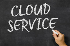 Servizio della nuvola Immagine Stock Libera da Diritti