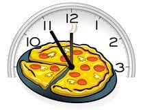 Servizio della pizza Fotografia Stock