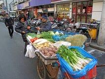 Servizio della verdura del risciò immagine stock