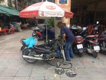 Servizio della via del Vietnam Fotografia Stock Libera da Diritti