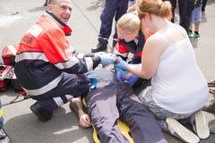 Servizio di ambulanza 3 Fotografia Stock