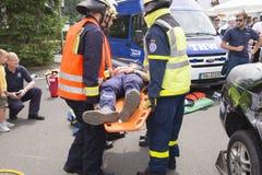 Servizio di ambulanza 4 Fotografia Stock