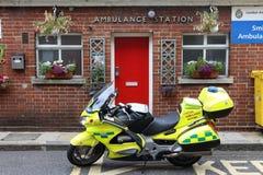 Servizio di ambulanza di Londra fotografie stock