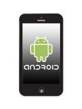 Servizio di androide Immagini Stock