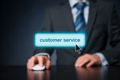 Servizio di assistenza al cliente immagini stock libere da diritti