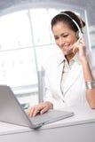Servizio di assistenza al cliente dedicato immagine stock
