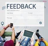 Servizio di assistenza al cliente di ricerca di risposta di risposte Fotografia Stock Libera da Diritti