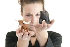 Servizio di Bull Fotografie Stock Libere da Diritti