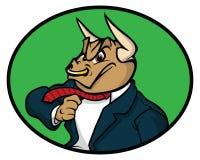 Servizio di Bull illustrazione vettoriale