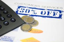 Servizio di clienti Immagine Stock