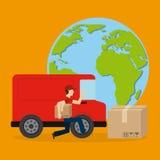 Servizio di distribuzione Immagine Stock Libera da Diritti