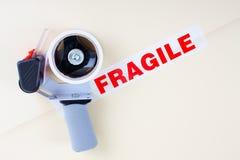 Servizio di distribuzione fragile Fotografia Stock Libera da Diritti