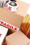 Servizio di distribuzione fragile Immagine Stock Libera da Diritti