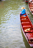 Servizio di galleggiamento Fotografia Stock Libera da Diritti