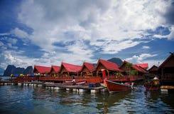 Servizio di galleggiamento della Tailandia Fotografia Stock Libera da Diritti
