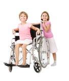 Servizio di handicap ad altri la gente fotografie stock libere da diritti